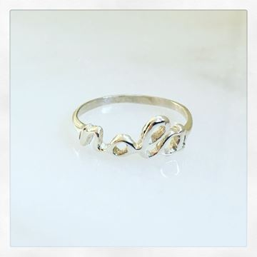 """""""NOLA"""" Sterling Silver Ring"""