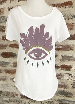 """Evil Eye"" Women's Dolman Tee"