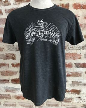 Nola Pelican Garment Dye Slub Crew T-Shirt