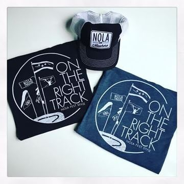 On the Right Track Unisex Tri-Blend Crew Neck Tee