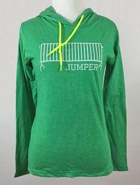 Barricade Jumper Women's Long Sleeve Hooded Tee