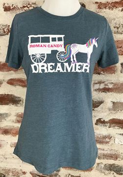 """""""Dreamer"""" Ladies' Relaxed Jersey Short Sleeve crew-neck Tee"""