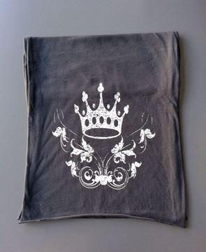 Single Crown & Garland Scarf