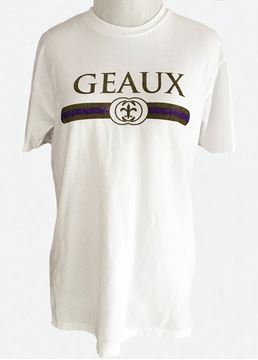 Picture of GEAUX Purple & Gold