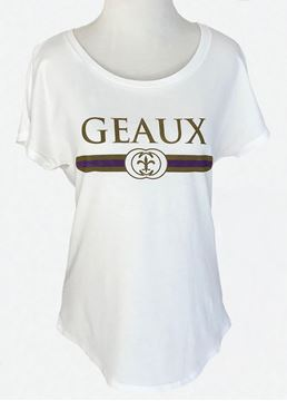 Picture of Geaux Purple & Gold Dolman