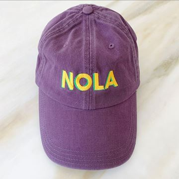 Picture of MG NOLA Chino Hat Purple